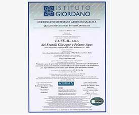 Certificazioni Azienda ISO 14351